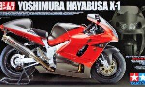 1:12 Scale Tamiya Suzuki Yoshimura Hayabusa X1 Model Kit #1274