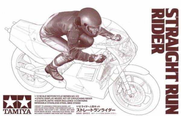 1:12 Scale Tamiya Straight Run Rider For All 1:12 Bike Kits #1220