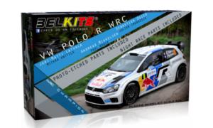 1:24 Scale Belkits VW Volkswagen Polo R WRC Rally Car Model Kit #1247P