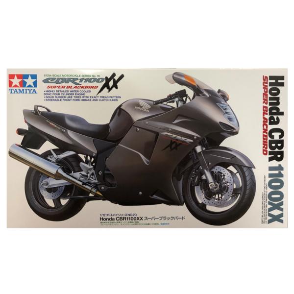 1:12 Scale Honda CBR 1100XX S.Blackbird Model Bike Kit #1257