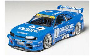 1:24 Scale Nissan Skyline R33 GTR Calsonic JGTC Race Car Model Kit #1282P