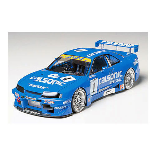 1:24 Scale Nissan Skyline R33 GTR Calsonic JGTC Race Car Model Kit #1282P