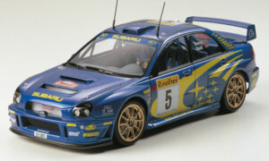1:24 Scale Subaru Impreza WRC Bugeye Rally Car 2001 Model Kit #1237P