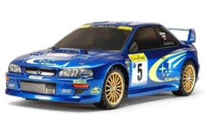 1:24 Scale Tamiya Subaru Impreza WRC 1999 Rally Model Car Kit #1279