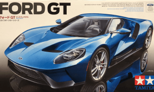 1:24 Scale Ford GT40 GT New Type Model Kit #1288P