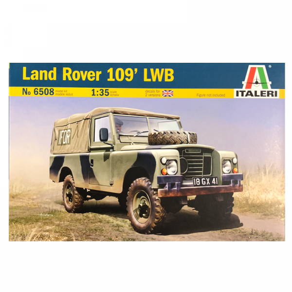 1:35 Scale Land Rover 109 LWB Army Model Kit #1255p