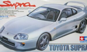 1:24 Scale Tamiya Toyota Supra JZA80 Model Car Kit #1225p