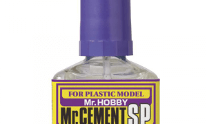 Mr Hobby Glue/Cement SP Quick Set Version *RECOMMENDED* For Making Model Kits