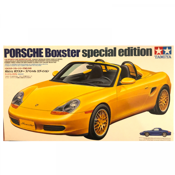 1:24 Scale Porsche Boxster Model Car Kit #1278P