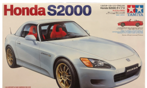 1:24 Scale Honda S2000 AP1 Model Car Kit #1280p