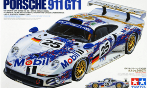 1:24 Scale Porsche 911 GT1 Racing Car Model Kit #1239P