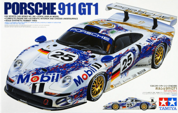 1:24 Scale Porsche 911 GT1 Racing Car Model Kit #1239P