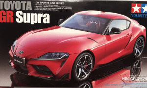 1:24 Scale Toyota Supra GR 2019 Model Kit #1233p
