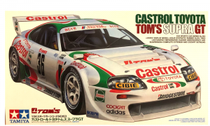 1:24 Scale Toyota Supra JGTC Tom's Racing Car Model Kit #1281P