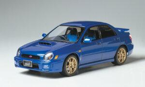 1:24 Scale Subaru Impreza STI Bugeye Model Car Kit #1226P