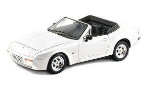 1:24 Scale Italeri Porsche 944 S Cabriolet Convertible Model Kit #1227P