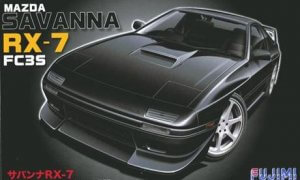 1:24 Scale Mazda RX-7 FC3S Savanna Model Kit #695