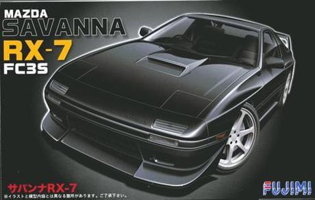 1:24 Scale Fujimi Mazda RX-7 FC3S Savanna Model Kit #695