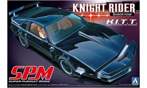 1:24 Scale KNIGHT RIDER K.I.T.T Season 4 SPM Model Kit #433
