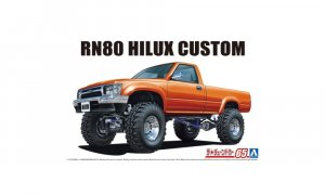 1:24 Scale Toyota Hilux Longbed Lift Up RN80 Model Kit #1289