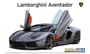 1:24 Scale Lamborghini Aventador LP700-4 '11 Model Kit #1471