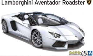 1:24 Scale Aoshima Lamborghini Aventador LP700-4 Roadster '12 Model Kit #1476p
