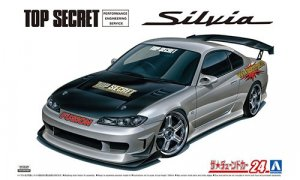 1/24 Scale Aoshima Nissan Silvia S15 Top Secret Model Kit #1475P
