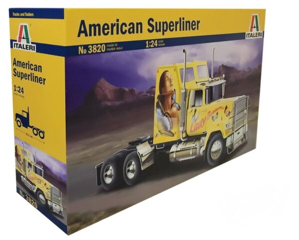 1:24 Scale Italeri American Superliner Power Truck Model Kit  #1456p