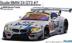 1:24 Scale Fujimi BMW Z4 GT3 Studie Race Car Model Kit #1303p