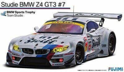 1:24 Scale Fujimi BMW Z4 GT3 Studie Race Car Model Kit #1303p