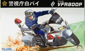 1:12 Scale Honda VFR800P Police Motorcycle Model Kit #