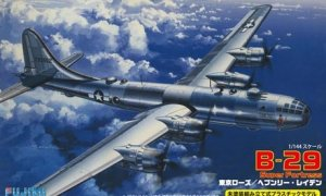 1:144 Scale Fujimi US Boeing B29 Super Fortress Tokyo Rose Plane Model Kit #1311p