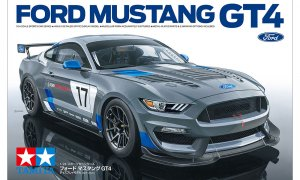 1:24 Scale Tamiya Ford Mustang GT4 Race Car Model Kit #P