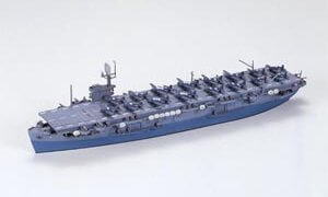 1:700 Scale Tamiya US Escort Carrier CVE-9 Bogue Ship Model Kit #
