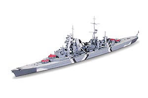 1:700 Scale Tamiya Prinz Eugen German Heavy Cruiser Ship Model Kit  #1427