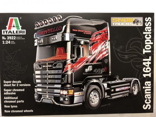 1:24 Scale US Wrecker Truck Model Kit #1455p
