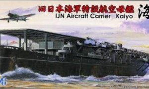 1:700 Scale Fujimi Imperial Japanese Navy Aircraft Carrier Kaiyo Model Kit  #1361p