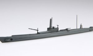 1:700 Scale Fujimi Imperial Japanese Navy I-15/46 Submarine Model Kit  #1364p