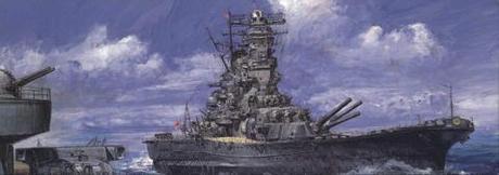 1:700 Scale Fujimi Musashi Commission Type Ship Model Kit #1334p