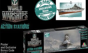 1:700 Scale Fujimi World Of Warships Bismarck Ship Model Kit #1410