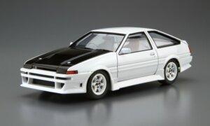 1:24 Scale Aoshima Toyota Trueno AE86 Car Boutique Club 1985 Model Kit #169P