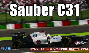 1:20 Scale Sauber F1 C31 Racing Car Model Kit #