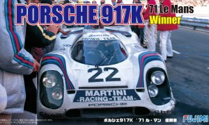 1:24 Scale Porsche 917K 1971 LeMans Winner Model Kit VERY RARE #