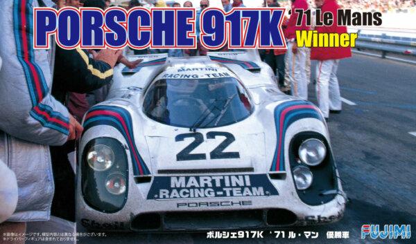 1:24 Scale Porsche 917K 1971 LeMans Winner Model Kit VERY RARE #