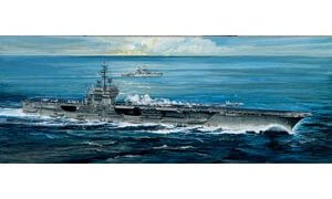 1:720 Scale Italeri USS America Ship Model Kit  #1406