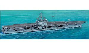 1:720 Scale USS Ronald Reagan Ship Model Kit  #1407