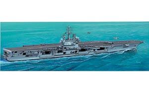 1:720 Scale Italeri USS Ronald Reagan Ship Model Kit #1407