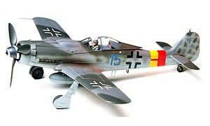1:48 Scale German Focke Wulf FW190 D-9 Plane Model Kit #1431