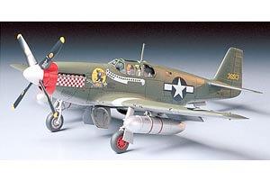 1:48 Scale Tamiya North American P-51D Mustang Plane Model Kit #1430