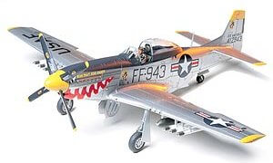 1:48 Scale North American F-51D Mustang Korean War Plane Model Kit #1432